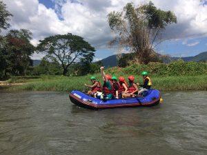Rafting at Khun Dan Prakan Chon Dam