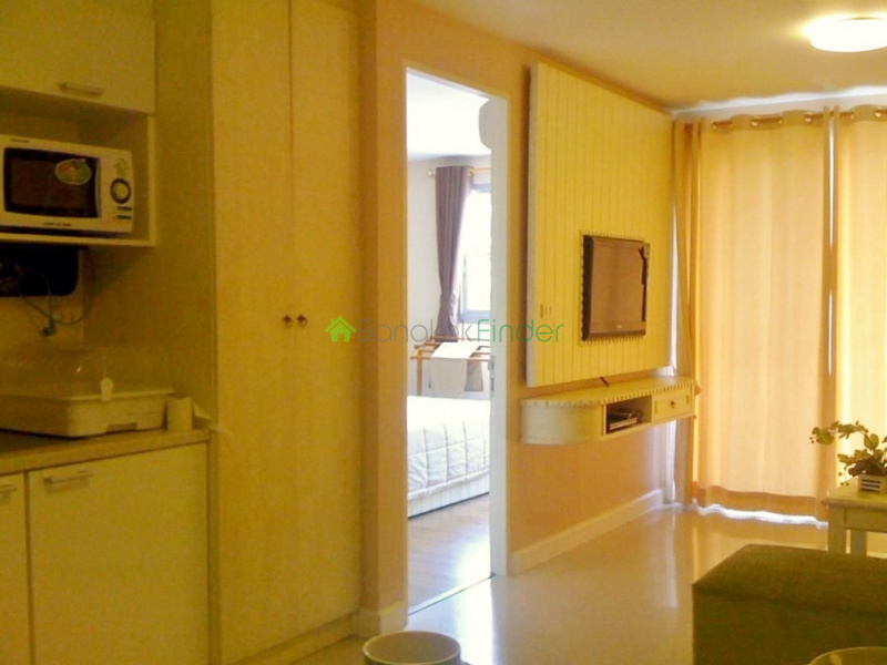 Thonglor, Bangkok, Thailand, 1 Bedroom Bedrooms, ,1 BathroomBathrooms,Condo,For Rent,The Clover,4374