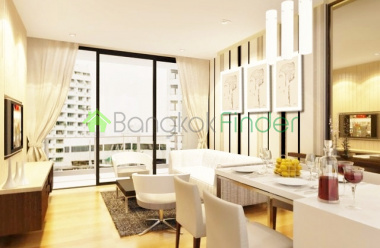 Thonglor, Bangkok, Thailand, 1 Bedroom Bedrooms, ,1 BathroomBathrooms,Condo,For Rent,Aequa,4396