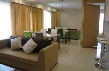 Rama 4, Bangkok, Thailand, 2 Bedrooms Bedrooms, ,2 BathroomsBathrooms,Condo,For Rent,Amanta Lumpini,4618