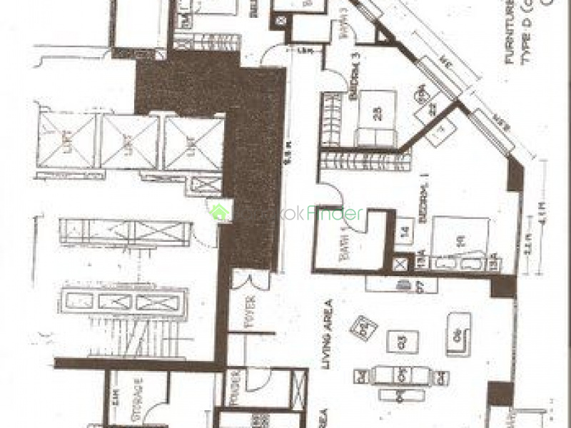 Ploenchit, Bangkok, Thailand, 3 Bedrooms Bedrooms, ,3 BathroomsBathrooms,Condo,Sold,All Season Mansion,5284