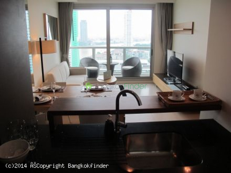 Sathorn, Sathorn, Thailand, 1 Bedroom Bedrooms, ,1 BathroomBathrooms,Condo,For Sale,The River,Sathorn,5665