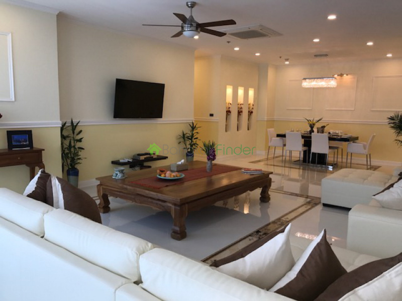 Sathorn, Sathorn, Thailand, 3 Bedrooms Bedrooms, ,3 BathroomsBathrooms,Condo,For Rent,Baan Sathorn Chaopraya,6485