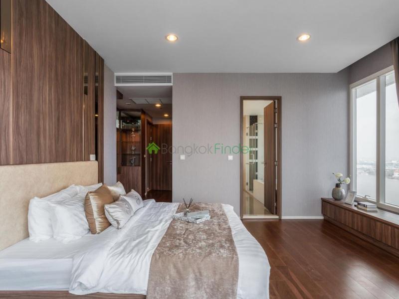 Charoenkrung, Bangkok, Thailand, 3 Bedrooms Bedrooms, ,3 BathroomsBathrooms,Condo,For Rent,Menam Residences,6781