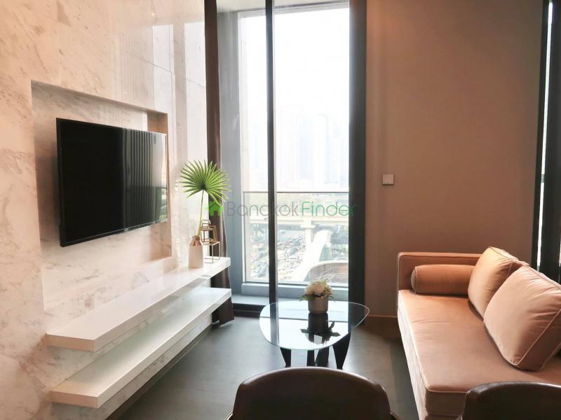 Asoke, Bangkok, Thailand, 1 Bedroom Bedrooms, ,1 BathroomBathrooms,Condo,For Rent,The Esse Asoke,6832
