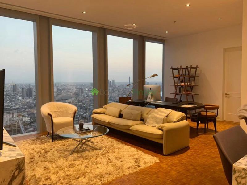 Narathiwas, Bangkok, Thailand, 2 Bedrooms Bedrooms, ,3 BathroomsBathrooms,Condo,For Rent,The RitzCarlton Residence,6962