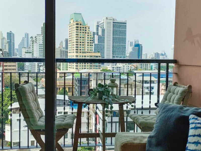 Asoke, Bangkok, Thailand, 1 Bedroom Bedrooms, ,1 BathroomBathrooms,Condo,For Rent,Aguston ,6966