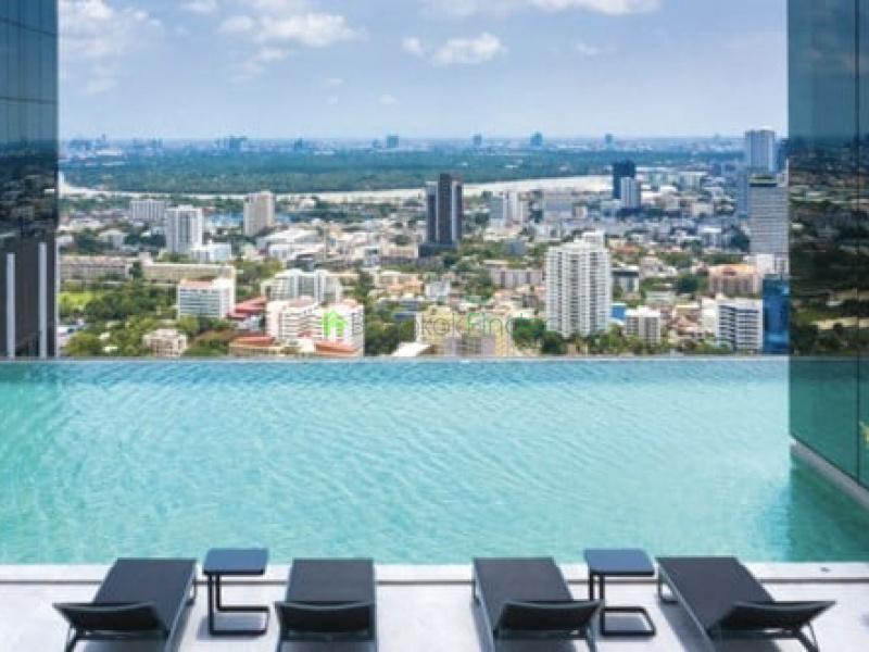 Sathorn, Bangkok, Thailand, 1 Bedroom Bedrooms, ,1 BathroomBathrooms,Condo,For Rent,KnightsBridge Prime Sathorn,7051