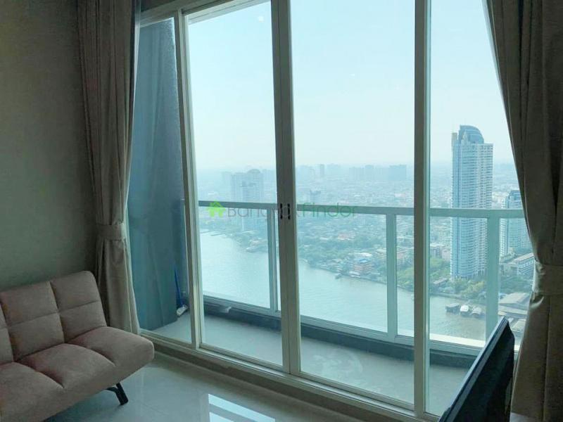 Charoenkrung, Bangkok, Thailand, 1 Bedroom Bedrooms, ,1 BathroomBathrooms,Condo,For Rent,Menam Residences,7072