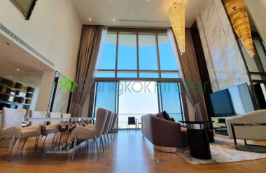 Charoen Nakhon, Bangkok, Thailand, 3 Bedrooms Bedrooms, ,4 BathroomsBathrooms,Condo,For Rent,Magnolias Waterfront,7094